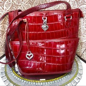 Women NWOT Brighton leather satchel